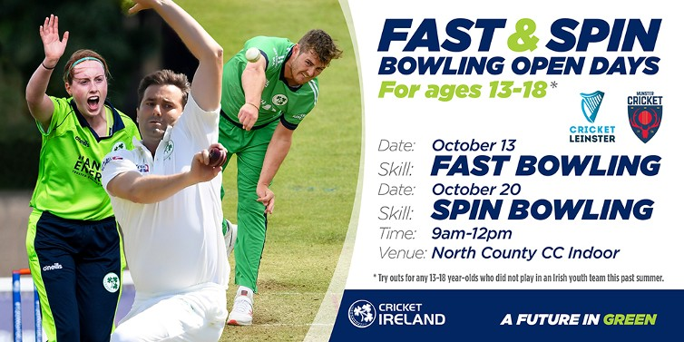 Search on for raw bowling talent across Ireland