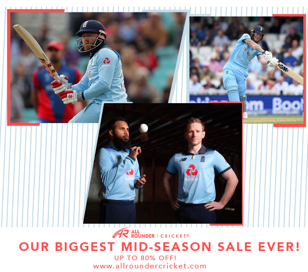 Mid-Season Clearance Sale at All Rounder Cricket