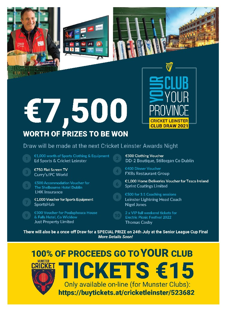 Your Club/Your Province Grand Prize Raffle