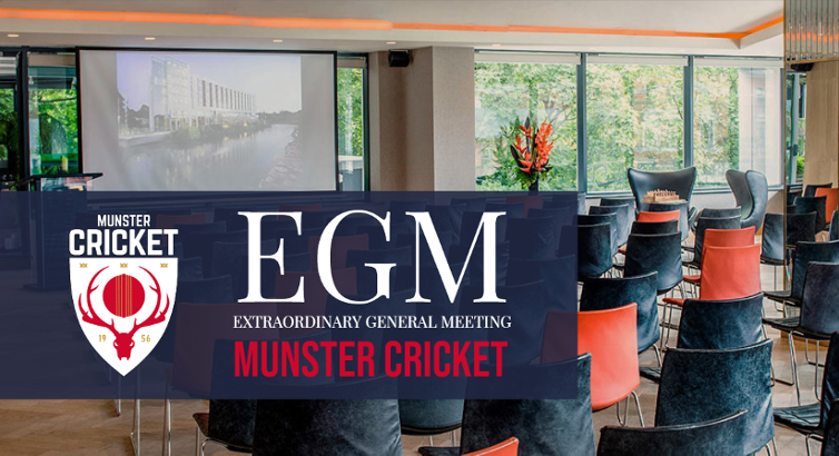 Notice for Munster Cricket EGM