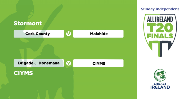 Cork County face Malahide in All-Ireland T20 Semi-Final