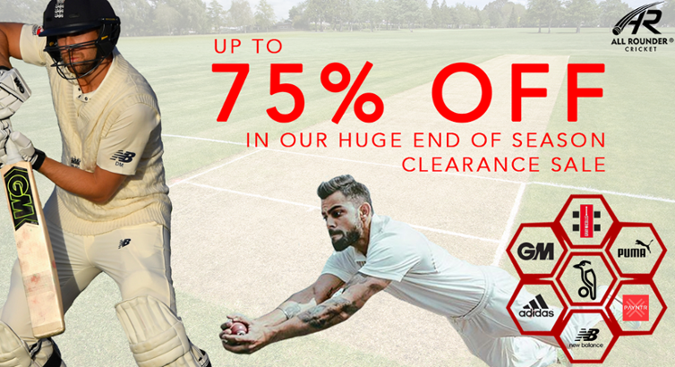 All-Rounder Cricket End of Season Sale