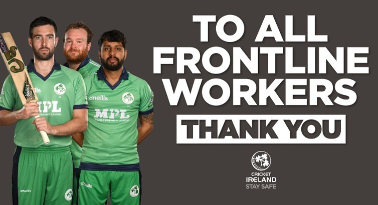 Irish team to acknowledge frontline healthcare workers in England ODI