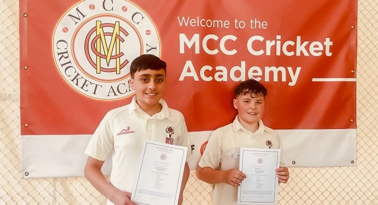 O'Sullivan & Egerton gain invaluable MCC experience