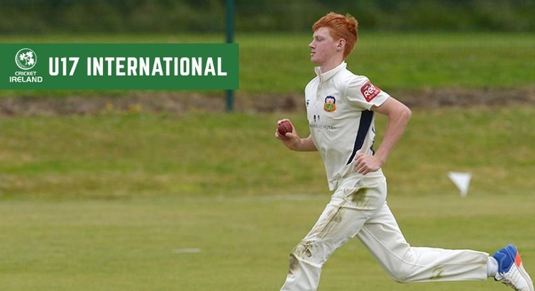 Aaron Cawley named in Irish U17 squad for UK tour